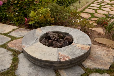 backyard firepit backyard fire pits and fireplaces in santa barbara