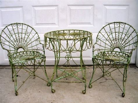 wrought iron garden table wrought iron table w 2 chairs garden patio furniture