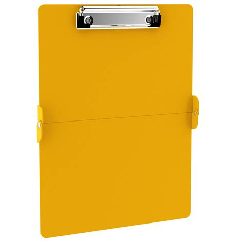 Name Tag Id Acrylic Model Vertical Transaparant Limited yellow clipboards