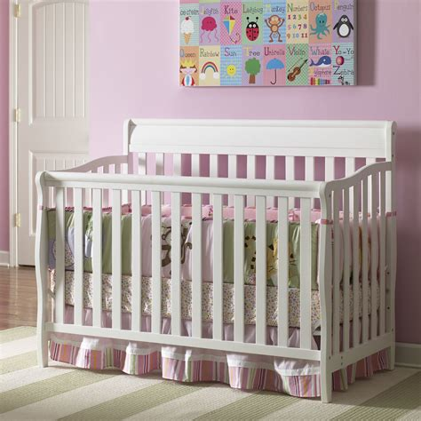 Graco Stanton Convertible Crib Graco Stanton 4 In 1 Convertible Crib Reviews Wayfair