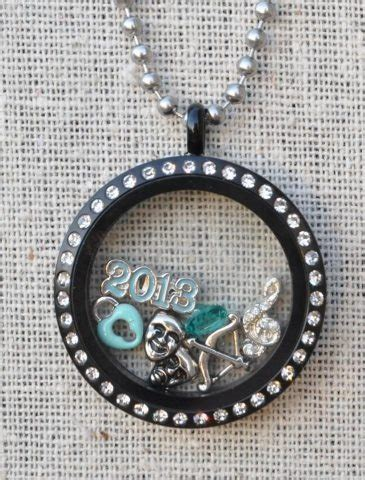 Origami Owl Black Locket - discover and save creative ideas