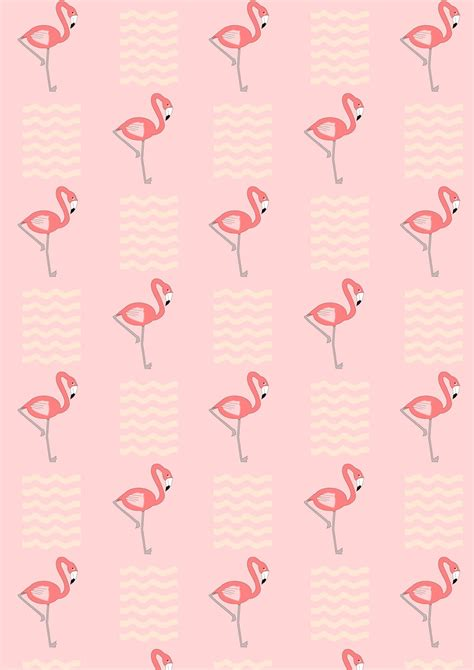 How To Make A Flamingo Out Of Paper - free digital flamingo scrapbooking paper geschenkpapier