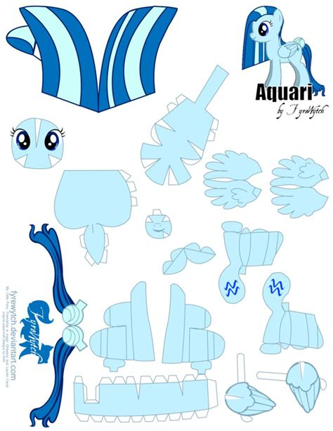 Papercraft My Pony - 1362 best images about paper craft on