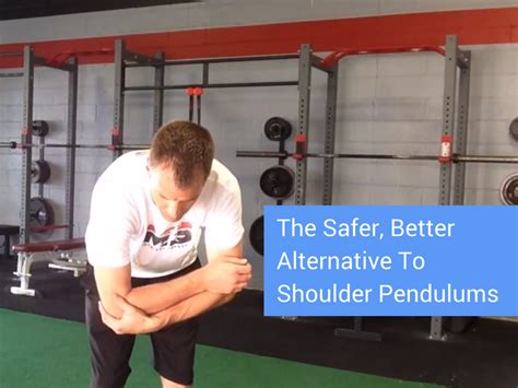 better alternative to the safer better alternative to shoulder codman s