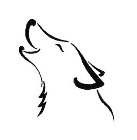 easy wolf tattoo designs howling wolf tattoo by tinsel shine on deviantart