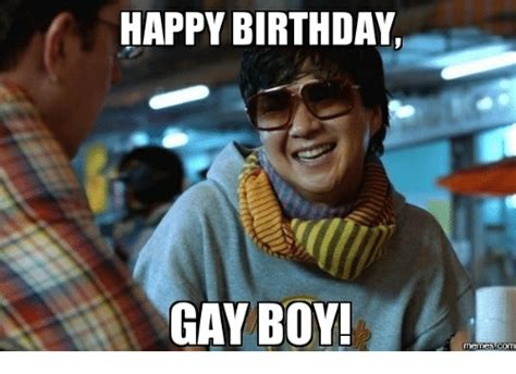 Gay Happy Birthday Meme - 25 best memes about happy birthday cool guy happy
