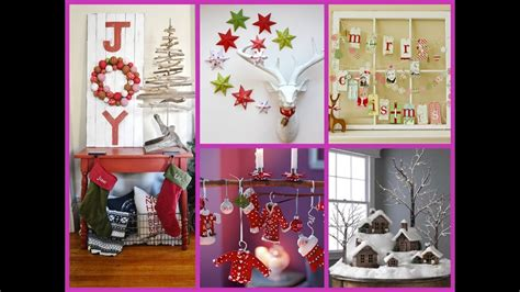 diy christmas home decor  wonderful ideas youtube