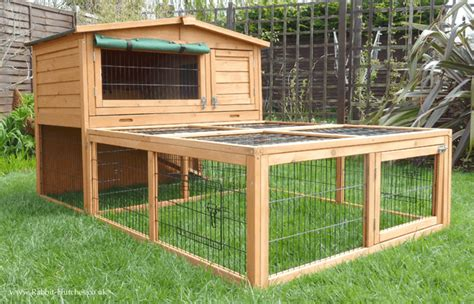 Rabbit Hutch And Run hutch with run