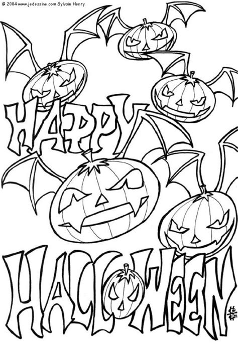 halloween coloring pages on pinterest scary halloween coloring pages coloring pages for kids