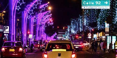imagenes navidad bogota colombia cu 225 ndo se encienden el alumbrado de navidad en bogot 225
