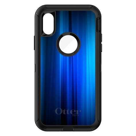 otterbox defender for iphone 7 8 plus x xs max xr bright blue curtain ebay
