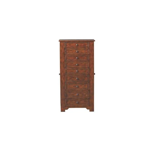 oxford jewelry armoire home decorators collection oxford 9 drawer jewelry armoire