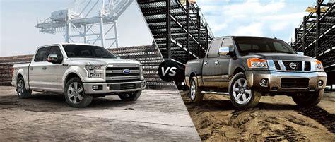 2015 ford f 150 comparison truck nissan titan