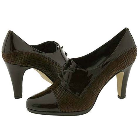 oxford high heel shoes klein s high heel oxford shoe overstock