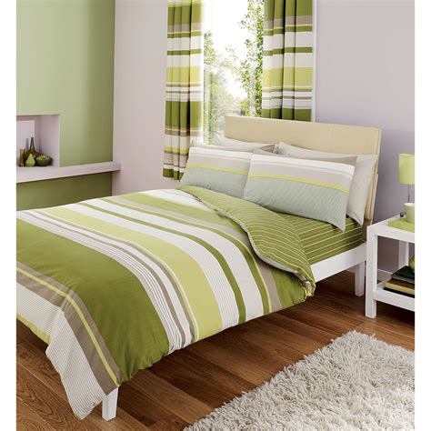 comforter green gaveno cavailia contemporary stripes complete bedding set