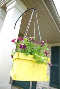 how to make hanging planters diy wood pallet hanging planter