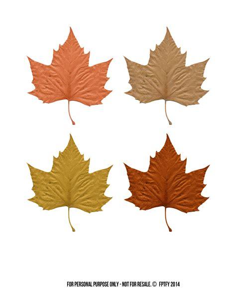 printable autumn leaves autumn easy fall treats leaf printables free pretty