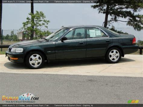 Acura 2 5 Tl by 1996 Acura Tl 2 5 Sedan Juniper Green Pearl Photo 9