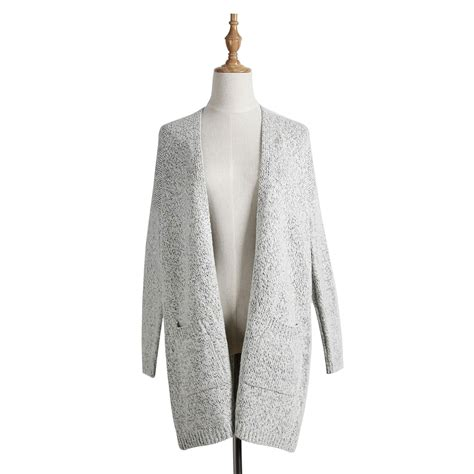 Knit Outerwear Cardigan Sky skusky gray knit cardigan