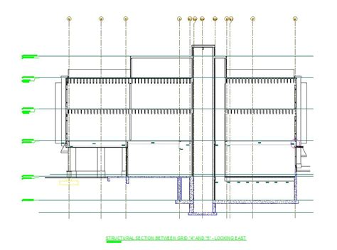 structural cross section as engineering services commercial projects