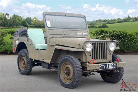 1952 Jeep Willys 1952 Willys Jeep Green