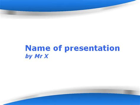 Powerpoint Design Vorlage Schlicht Azules Formas Plantilla Powerpoint Plantillas Power Point