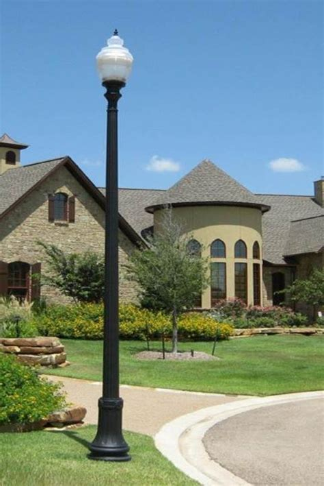 decorative l posts outdoor outdoor light posts residential outdoor light posts