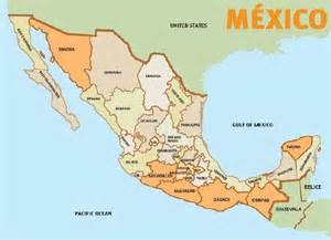 A Map Of Mexico by Travel Roadmap Central East Route From Canada To Puerto