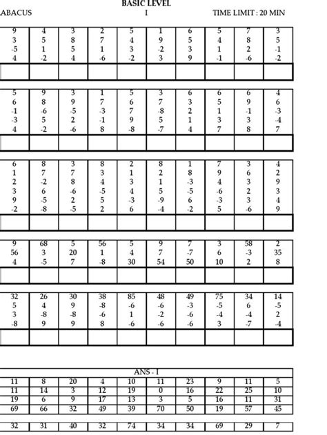 Abacus Math Worksheets Free 1000 images about abacus on activity books backpacks and mathematics