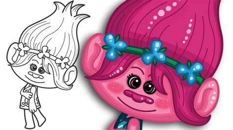 princess poppy troll clipart clipartxtras