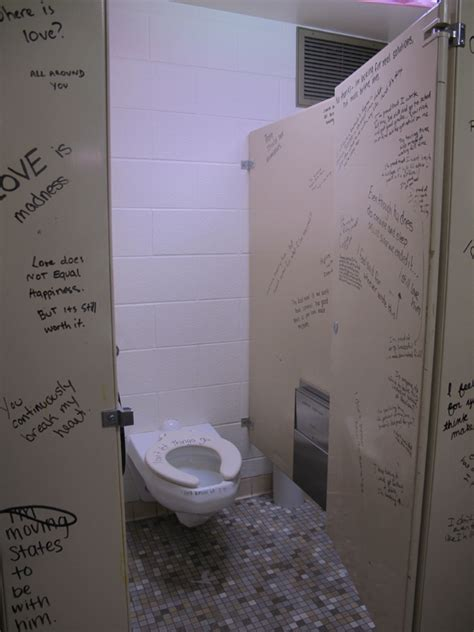 girls bathroom stall dana lynn harper december 2011