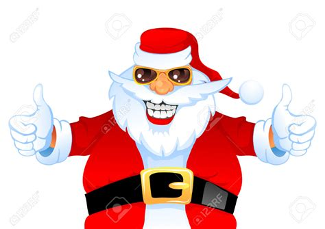 santa claus thumbs up santa thumbs up clipart clipartxtras