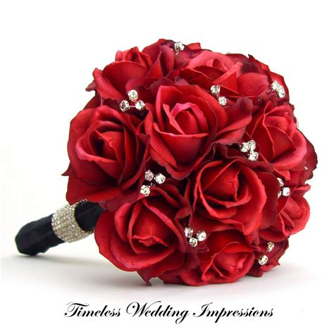 Wedding Flowers Roses by Black And Wedding Flowers Bridal Bouquet I