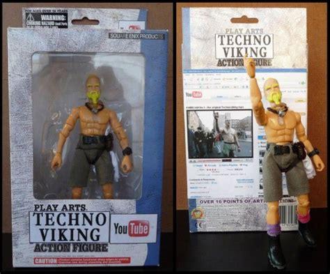 Know Your Meme Techno Viking - techno viking action figure neatorama