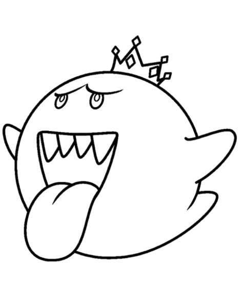 king boo coloring pages coloring home