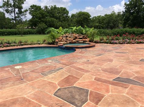 pool deck stone the most beautiful stone swimming pool deck design ideas