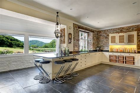 Modern Cottage Design 30 inventive kitchens with stone walls
