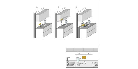 presa d cucina prese elettriche cucina progettazione valcucine