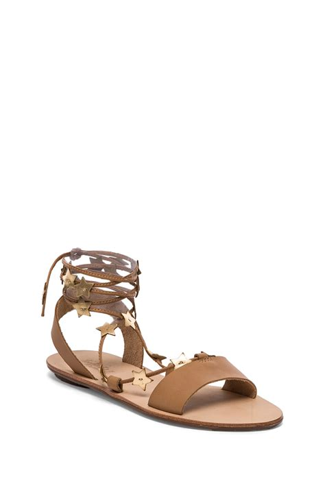 loeffler randall starla sandal loeffler randall starla sandal in brown buff gold lyst