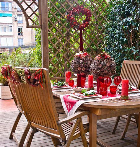 decoracion de navidad para patios como decorar un patio peque 241 o en navidad