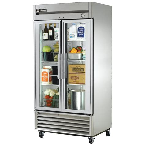 Glass Door Refrigerators True T 35g 40 Quot Two Glass Door Reach In Refrigerator