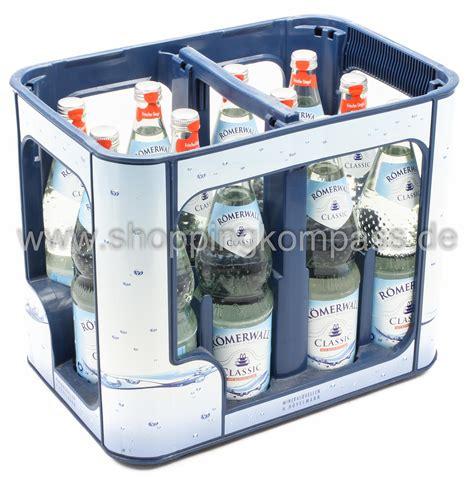 1 kasten wasser mineralwasser r 246 merwall mineralwasser classic kasten 12
