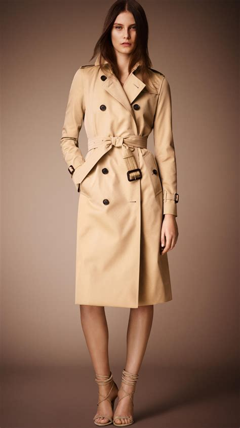 Heritage By Burberry by Burberry The Kensington Heritage Trench Coat In