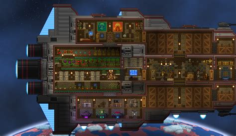 starbound bed building ship let s see your ship page 29