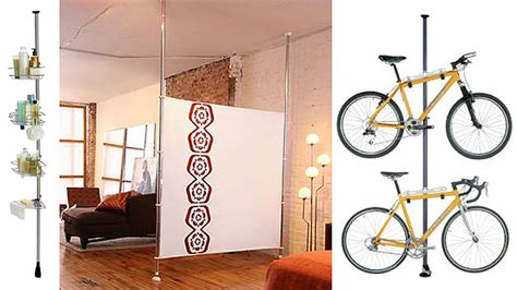 Floor To Ceiling Tension Rod Room Divider Diy For Renters Domain