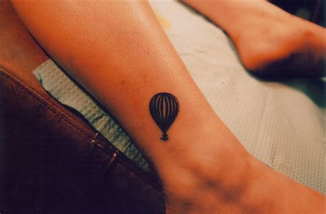 small balloon tattoo air balloon tattoos designs ideas and meaning