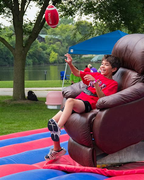 armchair quarterback game armchair quarterback chicago party rental