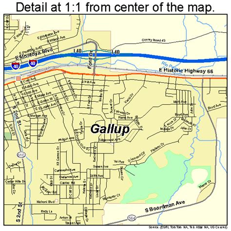 map of gallup new mexico gallup new mexico map 3528460