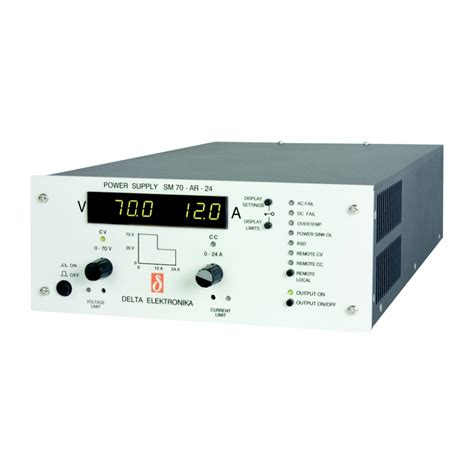 programmable bench power supply sm800 series 800 w bench programmable system