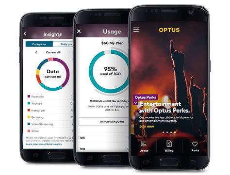 mobile optus my optus app optus